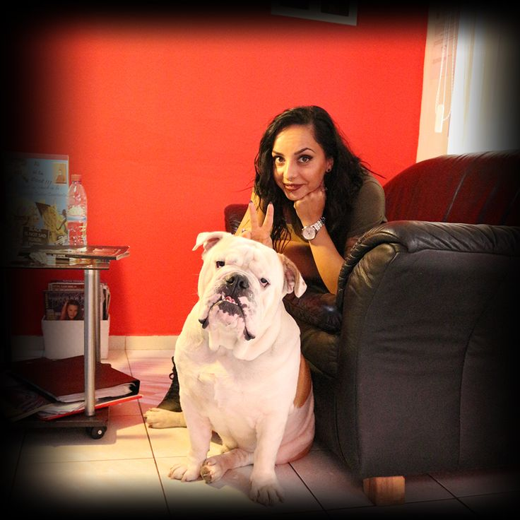 girl bulldog tattooartist