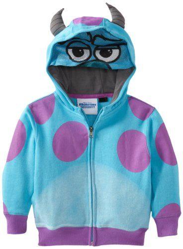 Monsters Boys 2-7 Sully Fleece Hoodie - Buy New: $13.15