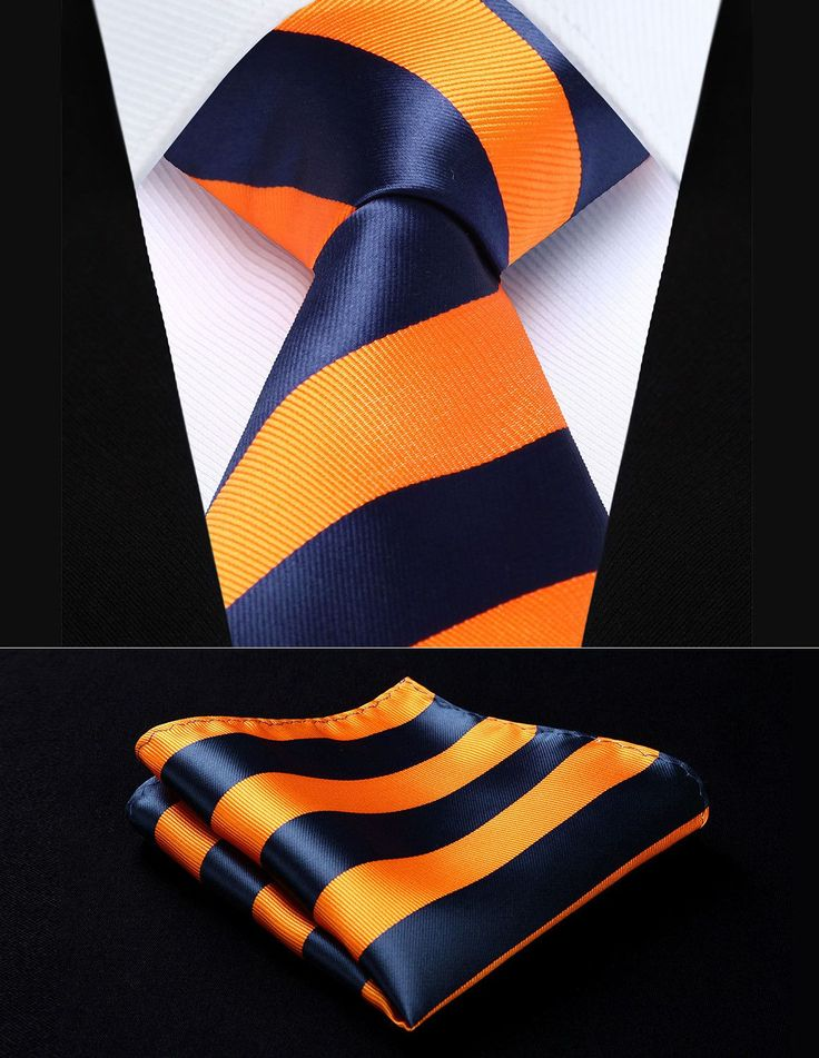 The 25+ best Orange tie ideas on Pinterest | Mens 3 piece ...