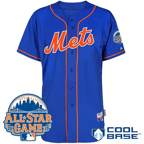 0d9675128 ... 43 r.a. dickey cream cool base mlb jerseys New York Mets Authentic  Alternate Home Cool Base Jersey w2013 All-Star Patch . ...