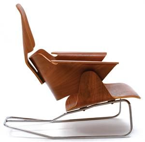 """""""Plywood: Material, Process, Form"""" • at the Museum of Modern Art through February 27: Product Design, Lounges, Charles Eames, Lounge Chairs, Furniture Design, Ray Eames"""