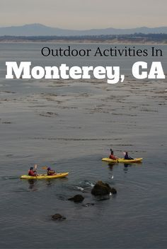 From hiking to whale watching. See the best of the Monterey Bay with these top outdoor activities in Monterey, California.