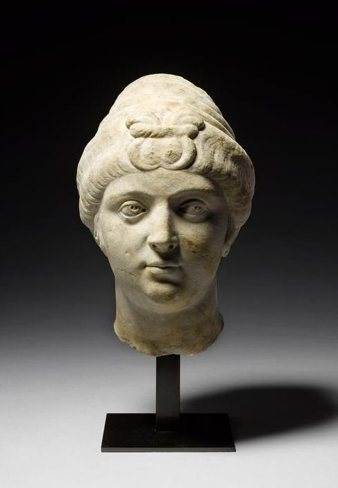 greece hair styles a marble portrait of the empress faustina the 5131