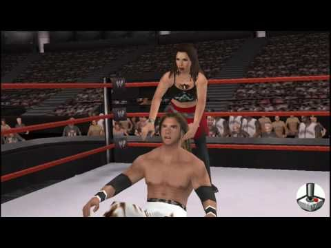 WWE Smackdown vs. Raw 2008: Mickie James vs. Johnny Nitro