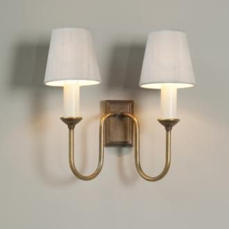 Wall lighting | Double Rowsley Wall | Jim Lawrence
