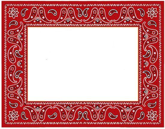 bandana frame