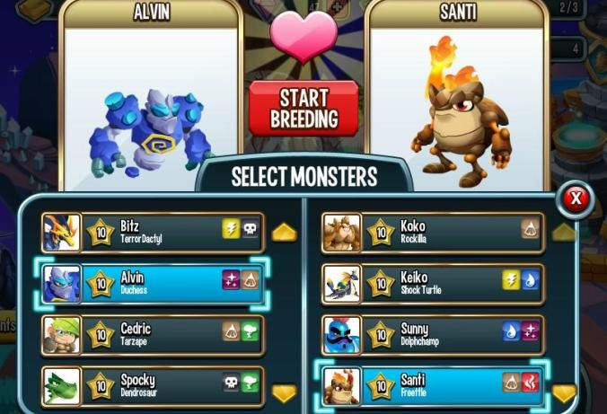monster legends unlimited gems mod apk