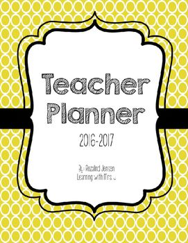 Teacher Planner and Organizer Binder is a helpful tool to help you start your year off right.  All files are editable and you can download the updated version each year for FREE!  Included in this download:-Teacher Planner Cover-Subject Planner Covers: Reading, Math, Science, etc.-Editable Subject Planner Covers to personalize-One inch binder sleeves with Subjects -Editable one inch binder covers to personalize-One year Calendar-Weekly Lesson Plan Template-editable-To Do List-Things to Do…