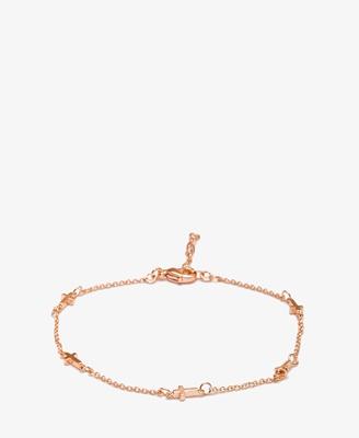 $4.50 mini cross bracelet. forever 21