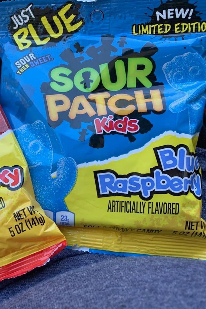 Just Blue And Just Red Sour Patch Kids Bags Are Here For People Who Know What They Want Sour Patch Kids Sour Patch Patch Kids
