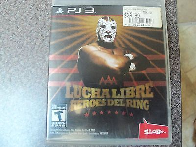 Lucha Libre AAA: Heroes del Ring (Sony PlayStation 3, 2010) complete