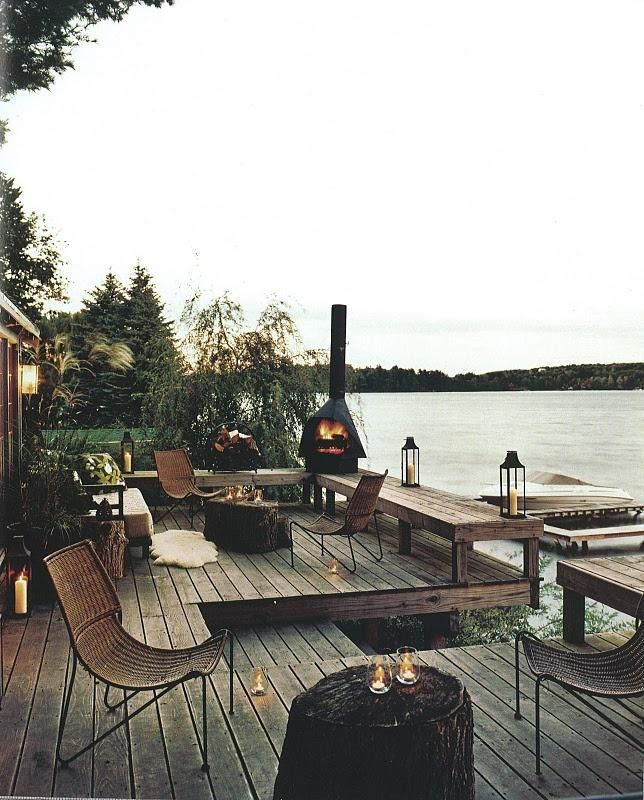 rustic chic | outdoor entertaining