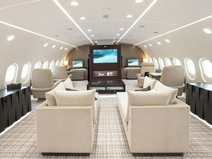 30 Unbelievable Private Jets That Are Owned By Celebs   Gossip Giraffe