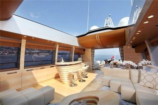 Для одних - реальность, для других - мечта - Роскошные интерьеры яхт - образ жизни   msn