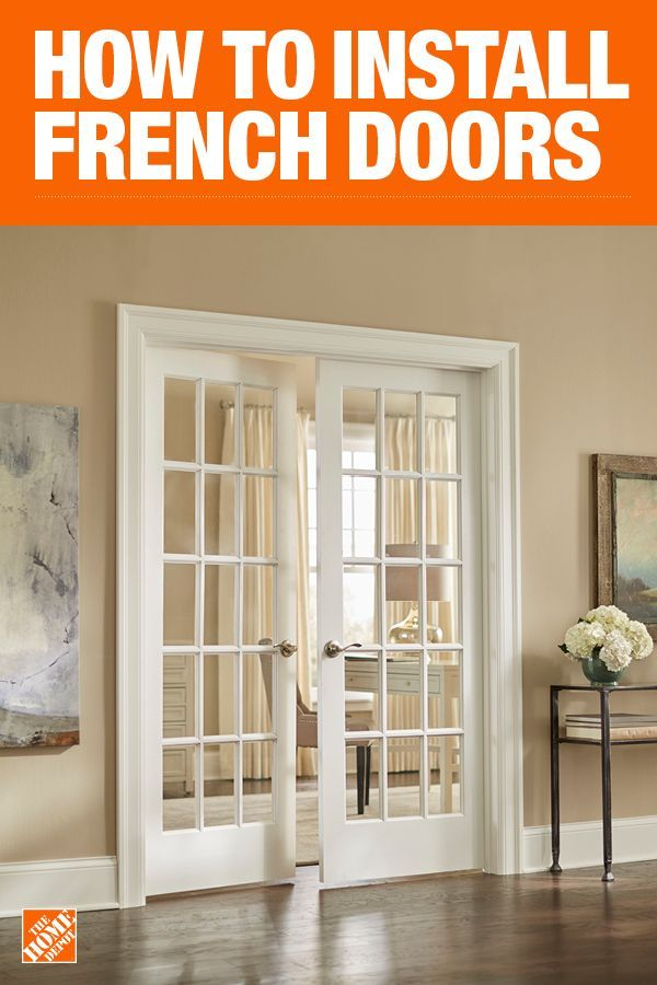 Installing French Doors With A Diy Transom Window Installing French Doors French Doors Interior Doors Interior
