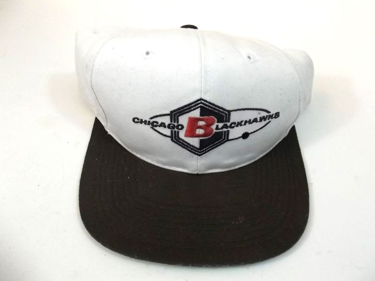 Chicago Blackhawks Hockey Official Hat Snapback One Size Fits All #Nike #ChicagoBlackhawks