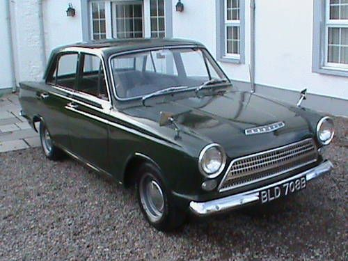 Ford Mk1 Cortina De Luxe 1964 Maintenance Of Old Vehicles The