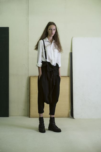 Y's by Yohji Yamamoto Ready To Wear Spring Summer 2015 Paris / Fashion Queer…