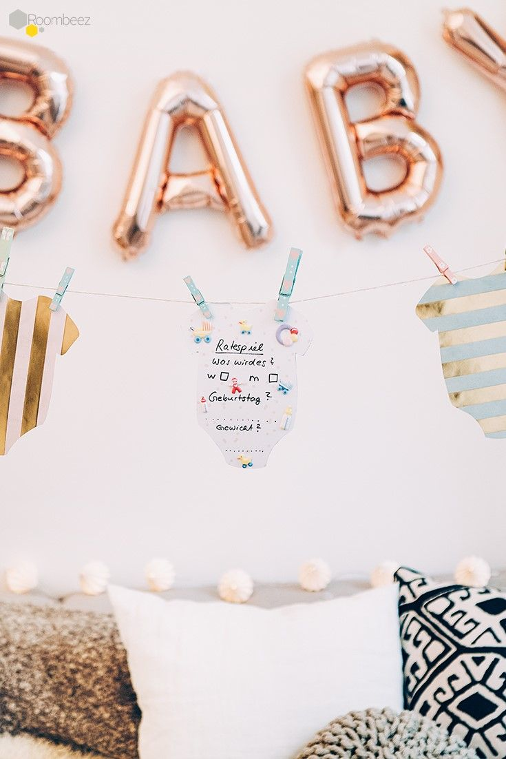 44 best Babyparty Dekoration ☆ images on Pinterest | Baby delivery ...