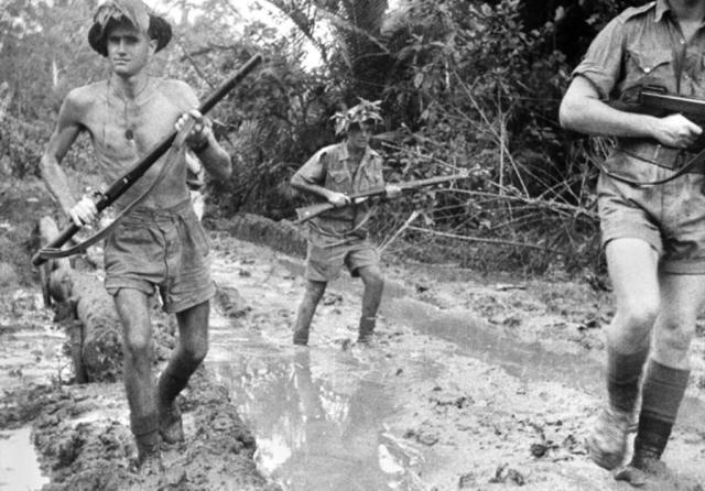 World War II Pacific: New Guinea, Burma, & China