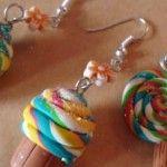 Fimo: Cupcake colorati