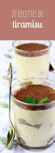 Au chocolat, aux fraises, aux Speculoos : 20 recettes faciles de Tiramisu !