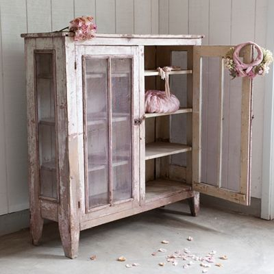 rachel ashwell pie safe could be a wardrobe or hutch