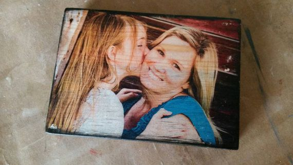 Your photo on wood - 3 1/2 x 5 - image transfer - picture on wood - permanent - will last forever - perfect keepsake