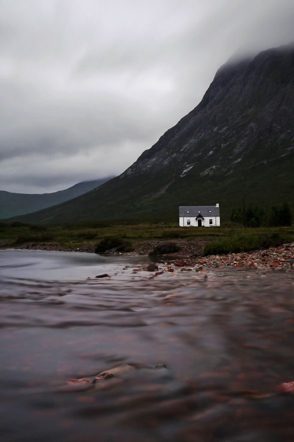 Cottage, Glen Coe, Scotland