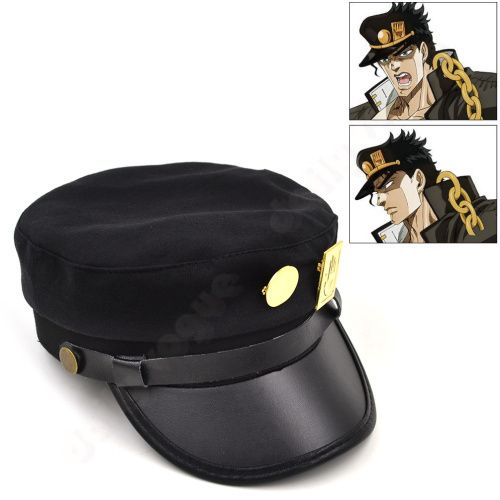Cheap cap mobile, Buy Quality cap sparkles directly from China hat Suppliers:      New Arrival Japanese anime OJO'S BIZARRE ADVENTURE Jotaro Kujou cosplay cap army military hat    Notice: