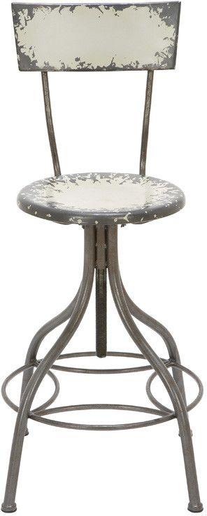 "UMA Inc Metal Bar Chair 41""H, 18""W"