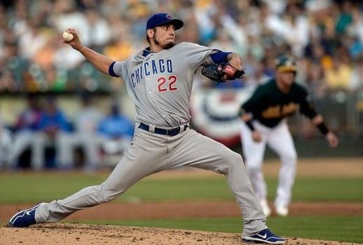 MLB trade rumors: Cleveland Indians talking to Chicago Cubs about Matt Garza