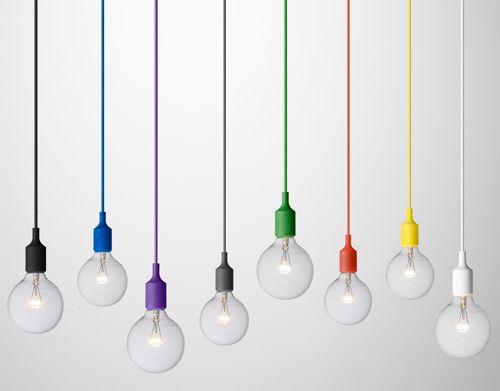 muuto - light bulbs, so bootyful and colourful