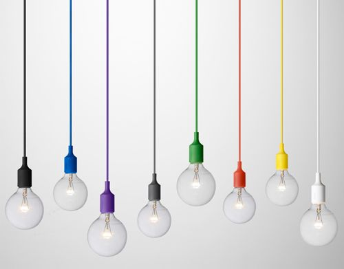 muuto - light bulbs, so bootyful and colourful