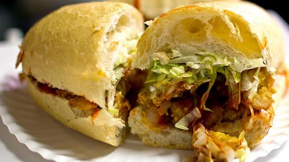Man Vs Food Best Sandwich In America New Orleans