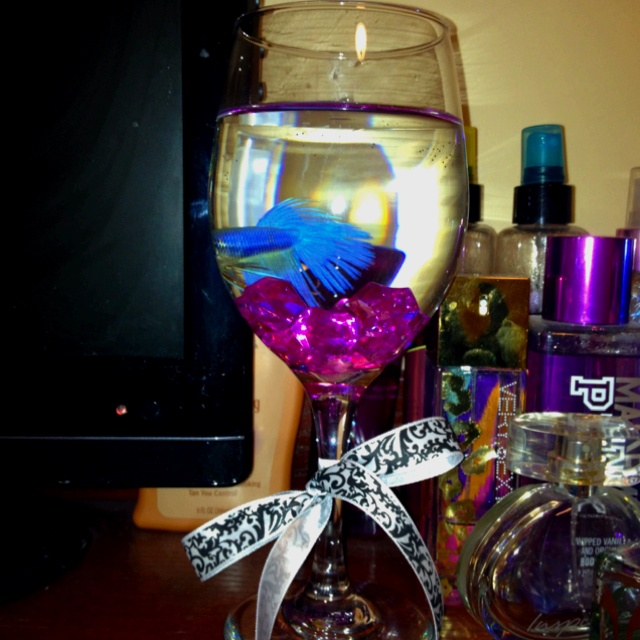 17 best images about wine glass decor on pinterest for Best wine with fish