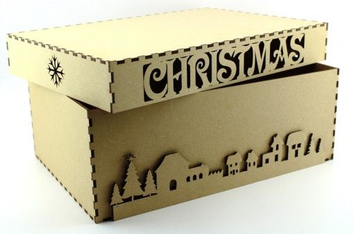 Christmas eve box, first Christmas box, Christmas box blank 3mm mdf http://www.lornajayne.co.uk/