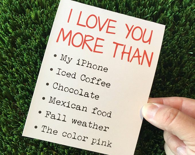 Funny Relationship Card for boyfriend Funny I love You card Funny Valentine Card guy Sarcastic Card Funny Drake Card Funny Love Card
