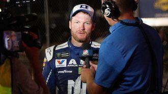 Dale Earnhardt Jr.crashes at Daytona International Speedway 7/1/17