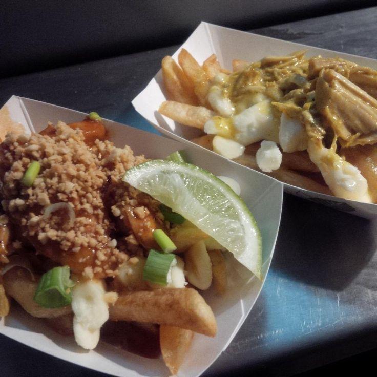Pad Thai and curry Poutine @poutinefest