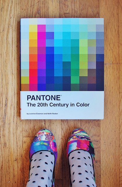 My Pantone book, a present from Joey.