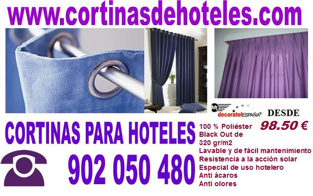 24 best cortinas para hoteles images on pinterest hotels for Confeccion cortinas