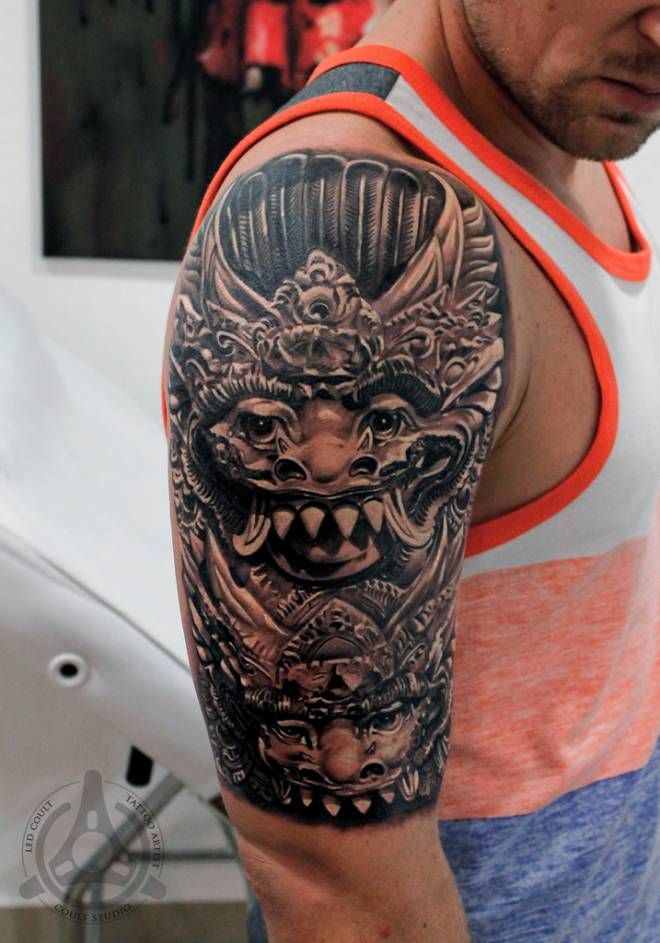 19 best images about bali tattoo ideas on pinterest mythical bird balinese and jets. Black Bedroom Furniture Sets. Home Design Ideas
