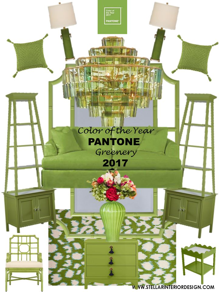 Pantone Color of the Year 2017 Greenery,  Pantone Greenery http://www.stellarinteriordesign.com/pantone-color-of-the-year-2017/