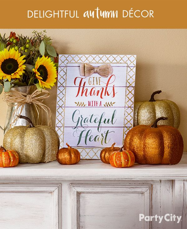 32 best images about fall decor on pinterest fall home for Thanksgiving home decorations pinterest