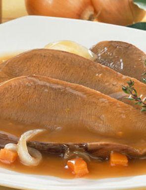 Recette Langue de boeuf sauce madère pour 4 personnes - GRAND FRAIS