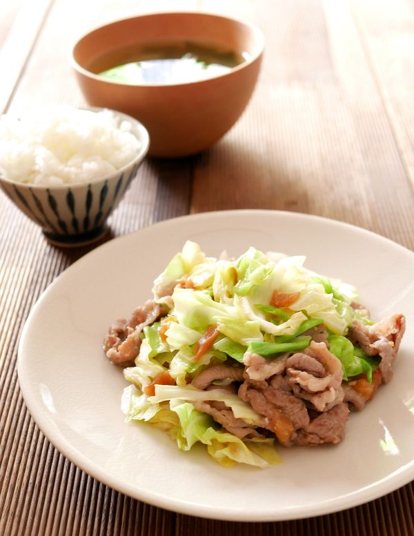豚肉とキャベツの梅みそ炒め by Mie | レシピサイト「Nadia | ナディア ...