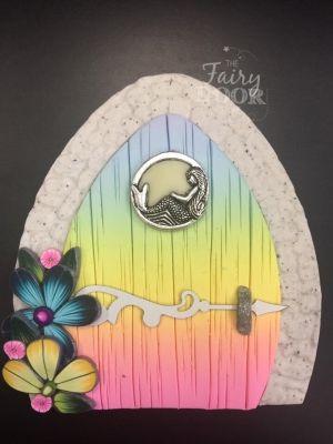 Magical Mermaid Fairy Door