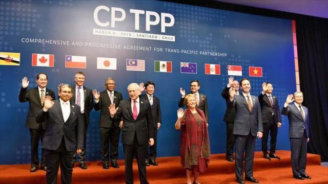 La verdad oculta: 11 países firman en Chile nuevo pacto de libre com...