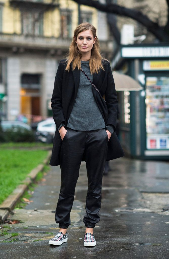 Seen on the Street   Outside the Fall/Winter 2014 Milan Women's Shows